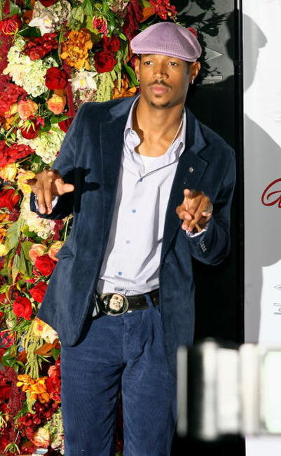 Shawn Wayans at the Beyonce Knowles' birthday and album release party.