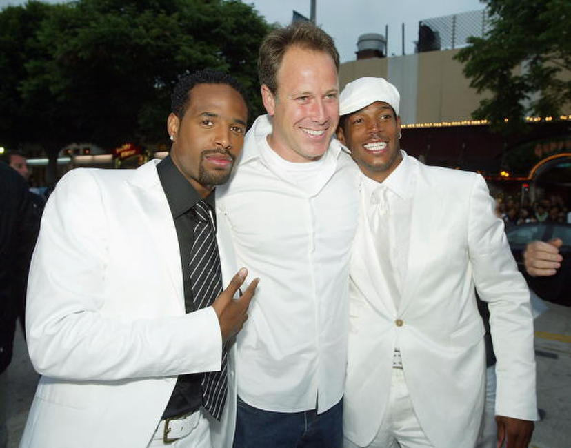 Shawn Wayans, Todd Garner and Marlon Wayans at the premiere of