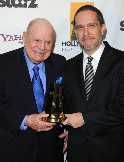 Don Rickles and Lee Unkrich at the 14th Annual Hollywood Awards Gala.