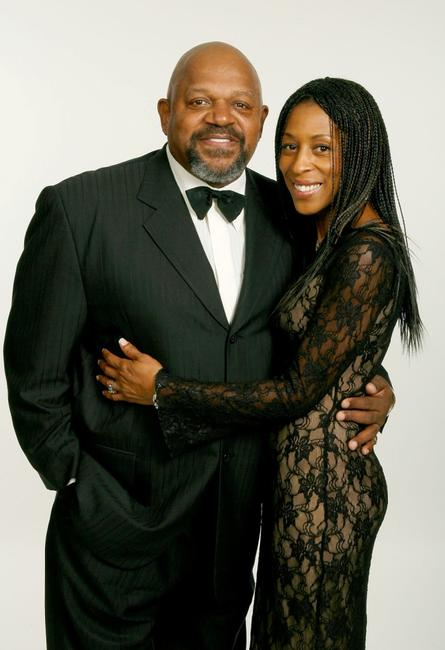 Charles S. Dutton and Bonita Brisker at the 59th annual Directors Guild of America Awards held at Hyatt Regency Century Plaza.