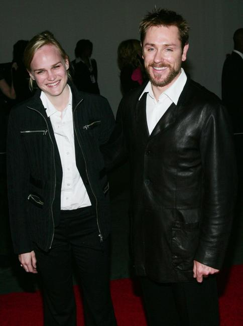 Ron Eldard and date Amy Rice at
