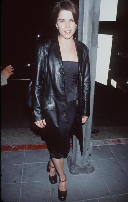 Neve Campbell at the 100th episode of