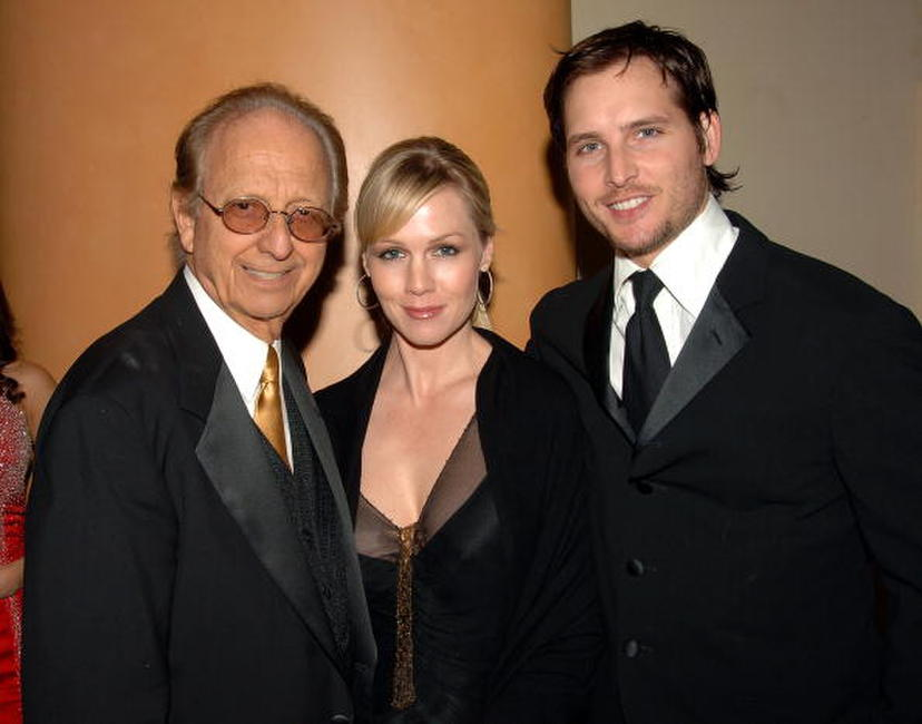 Norby Walters, Jennie Garth and Peter Facinelli at the Norby Walters' 16th Annual Night Of 100 Stars Oscar Gala.