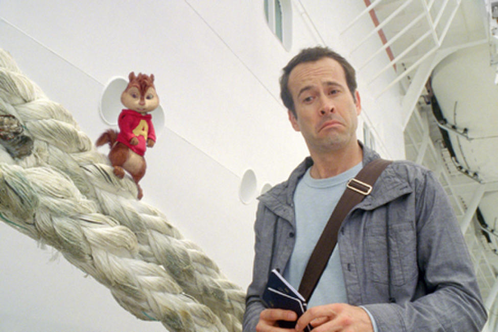 Alvin and Jason Lee as Dave in ``Alvin and the Chipmunks: Chipwrecked!.''