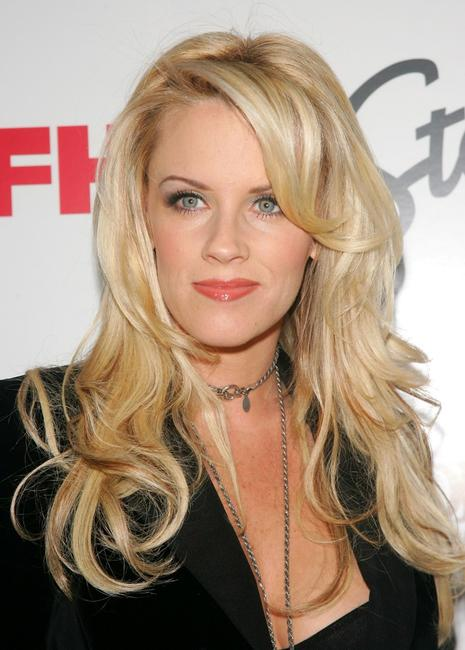 Jenny McCarthy at the party co-hosted by FHM Magazine to celebrate their new film