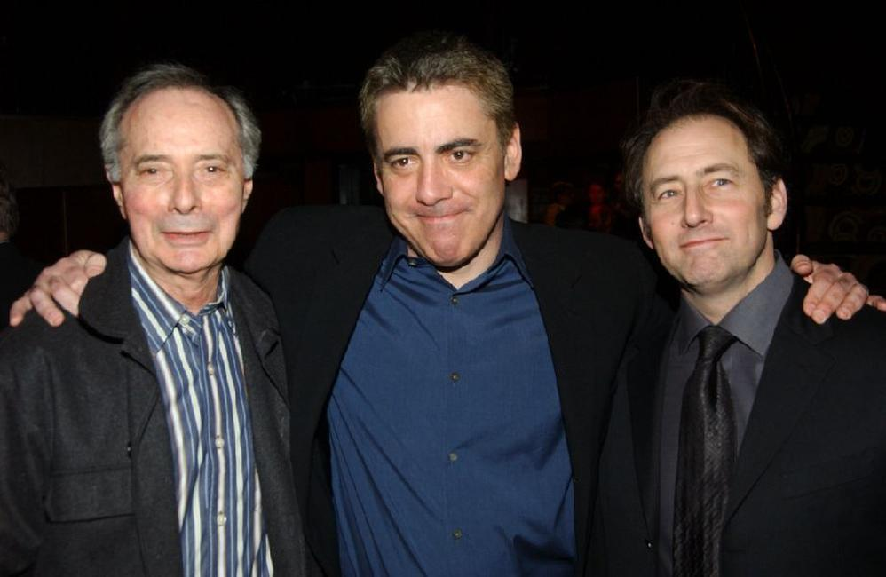 Adam Arkin, Alan Miller and Arye Gross at the after party for the opening of