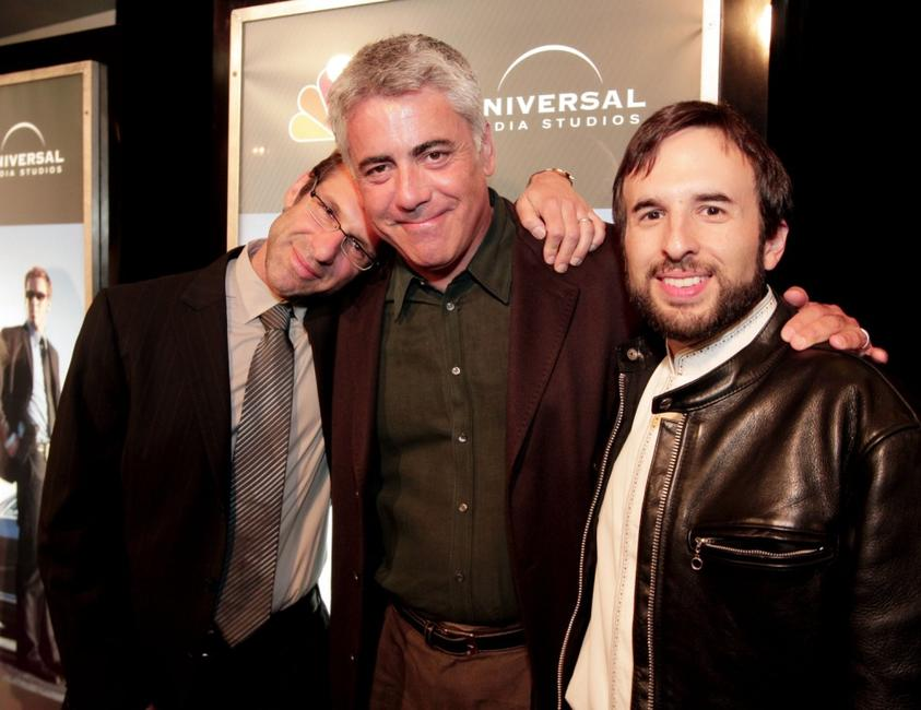 Adam Arkin, Rand Ravich and Far Shariat at the premiere screening of