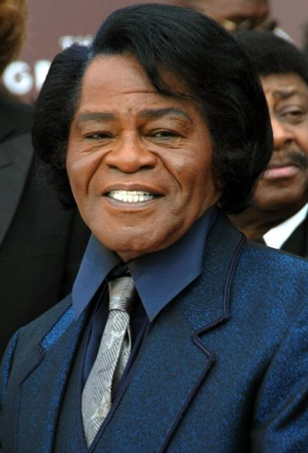 James Brown at the 47th Annual Grammy Awards.