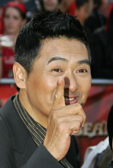 Chow Yun-Fat at the California world premiere of