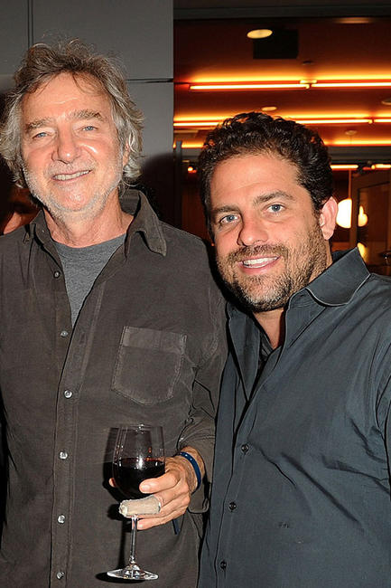 Director Curtis Hanson and Brett Ratner at the after party of