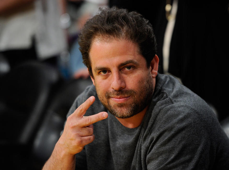 Brett Ratner at the Western Conference Semifinals in the 2011 NBA Playoffs in California.