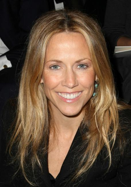 Sheryl Crow at the Ralph Lauren Fall 2008 fashion show during the Mercedes-Benz Fashion Week Fall 2008.