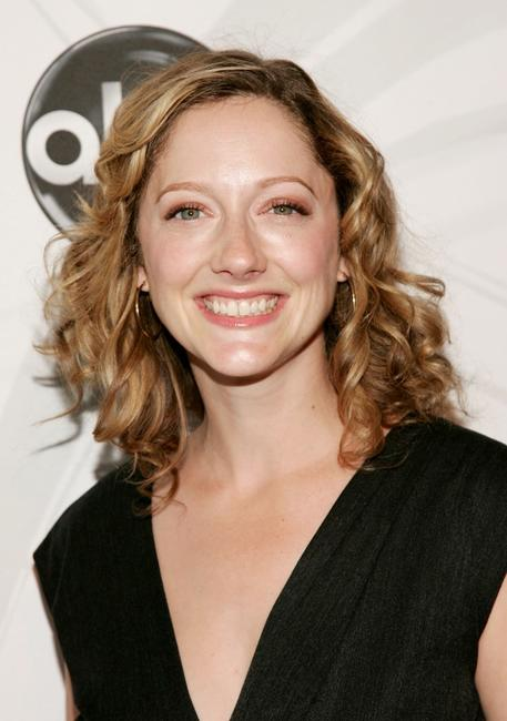 Judy Greer at the ABC Upfront presentation.