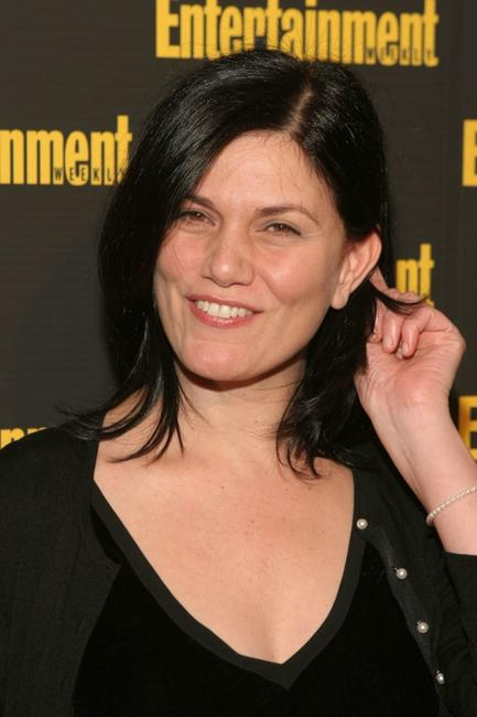Linda Fiorentino at the Entertainment Weekly's Oscar Viewing Party.