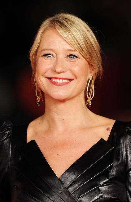 Trine Dyrholm at the premiere of