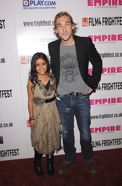 Nikita Mistry and Joseph Mawle at the world premiere of