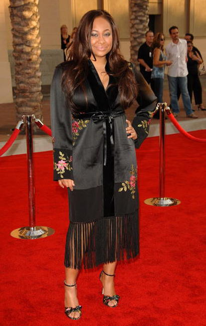 Raven Symone at the 2006 American Music Awards in L.A.