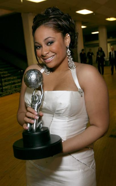Raven Symone at the 38th annual NAACP Image Awards.