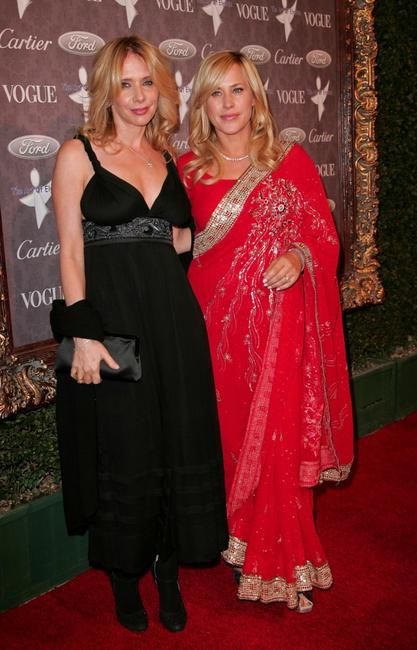 Rosanna Arquette and Patricia Arquette at the 'Heaven: Celebrating 10 Years' event benefiting the Art Elysium.