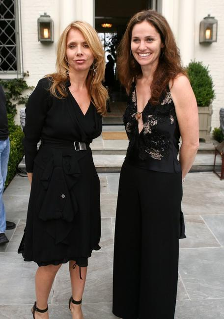 Rosanna Arquette and Amy Brenneman at the Children's Health Environmental Coalition's (CHEC) annual benefit.