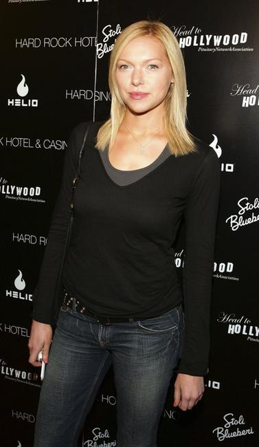 Laura Prepon at the first annual Head to Hollywood Celebrity Charity Poker Tournament and Auction.