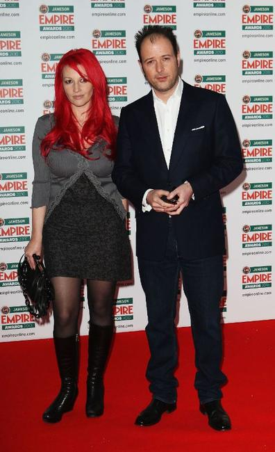 Jane Goldman and Matthew Vaughn at the Jameson Empire Film Awards.