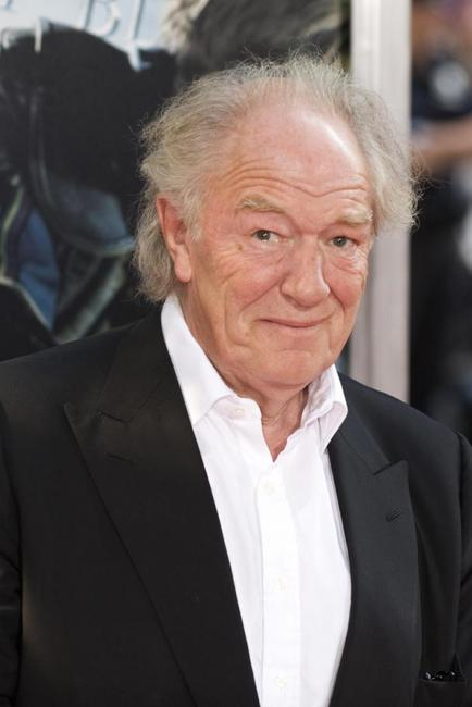 Michael Gambon at the New York premiere of