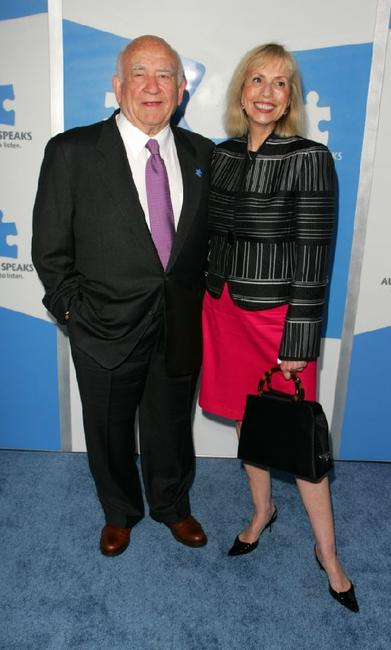 Ed Asner and wife Cindy Gilmore at the