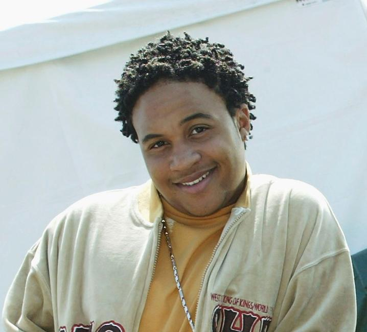 Orlando Brown at theShaquille O'Neal's childrens benefit
