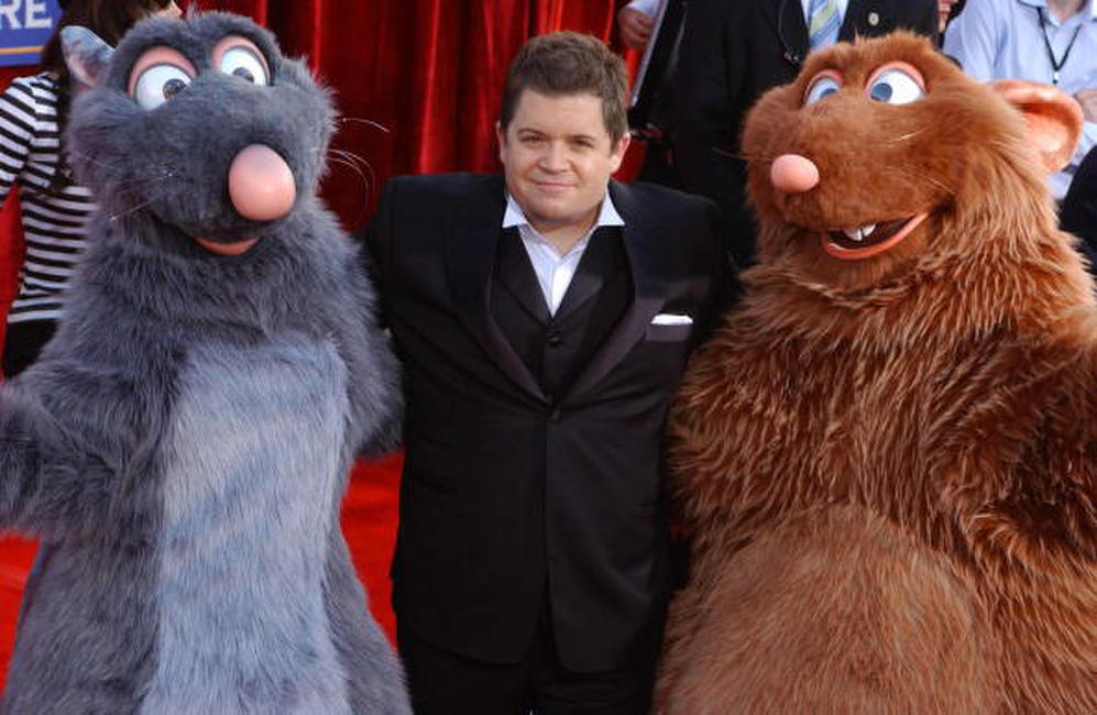 Patton Oswalt at the L.A. premiere of