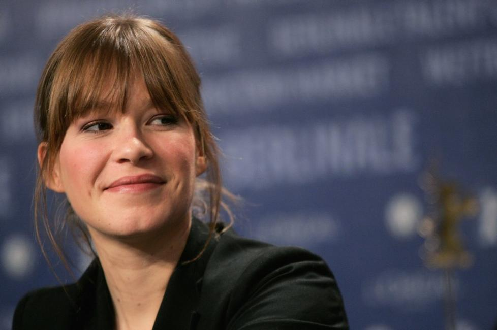 Franka Potente at the press conference for