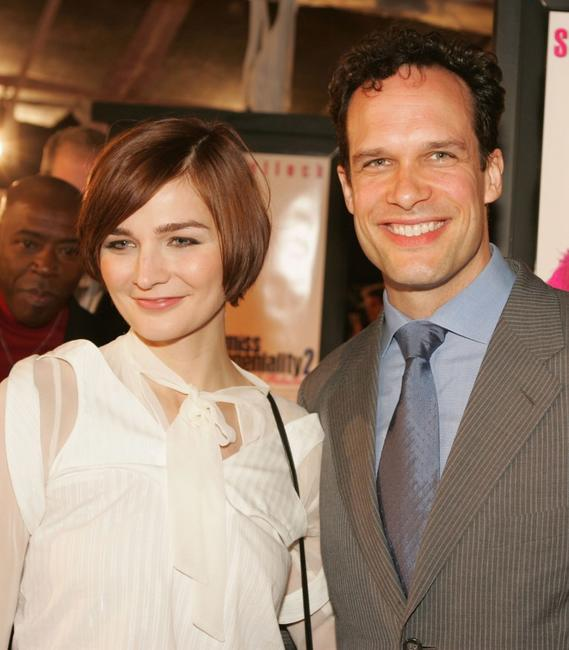 Heather Burns and Diedrich Bader at the premiere of
