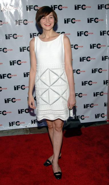 Heather Burns at the IFC Center Grand Opening Celebration.