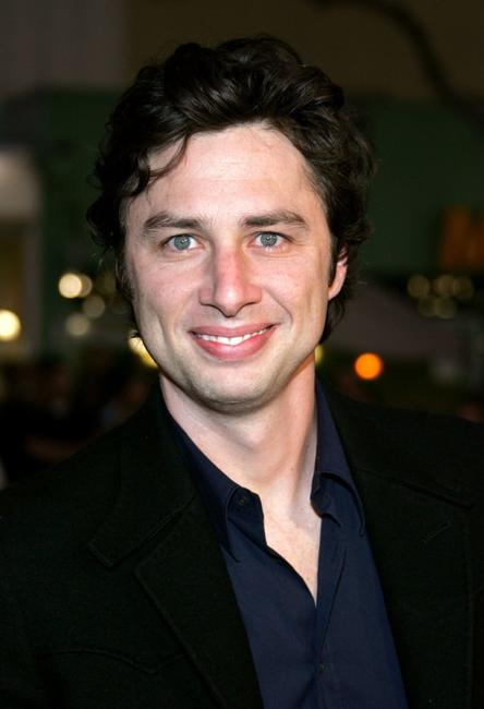 Zach Braff at the premiere of