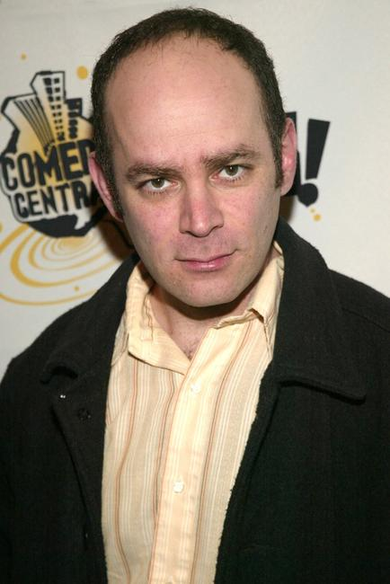 Todd Barry at the Comedy Central Bar Mitzvah Bash in New York.