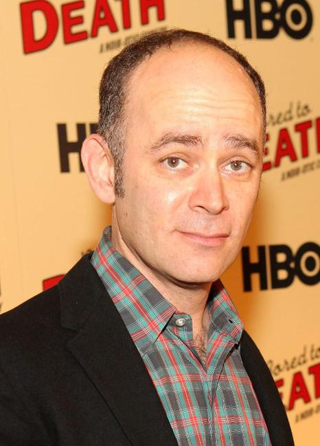 Todd Barry at the premiere of