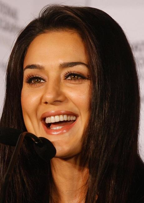 Preity Zinta at the launch of the new television series