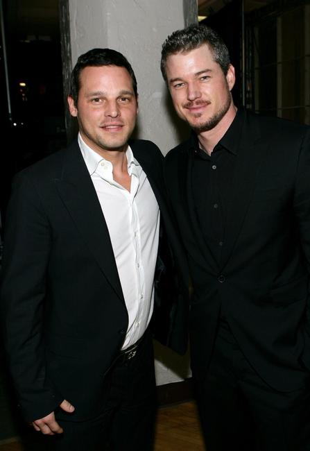 Justin Chambers and Eric Dane at the 33rd Annual People's Choice Awards.