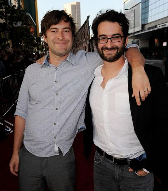 Directors Mark Duplass and Jay Duplass at the premiere of