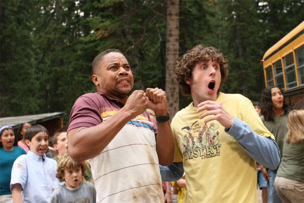 Cuba Gooding, Jr. and Josh McLerran in