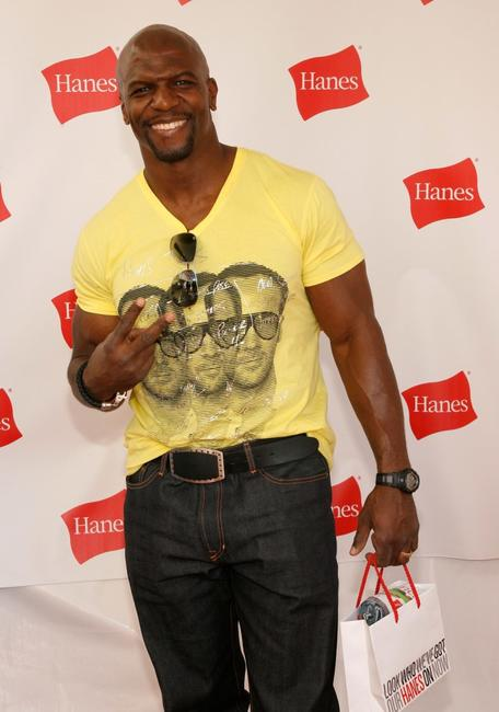 Terry Crews at the Hanes Style Villa.