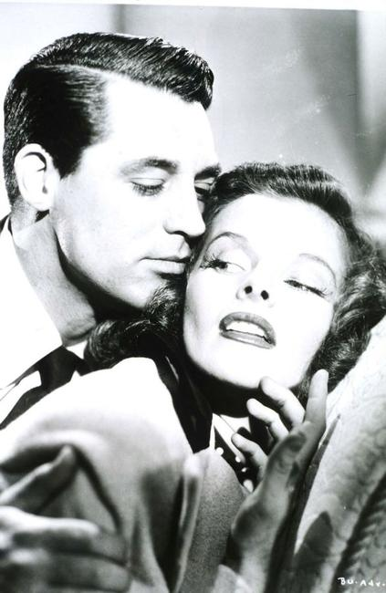 An Undated File Photo of Cary Grant and Katharine Hepburn.