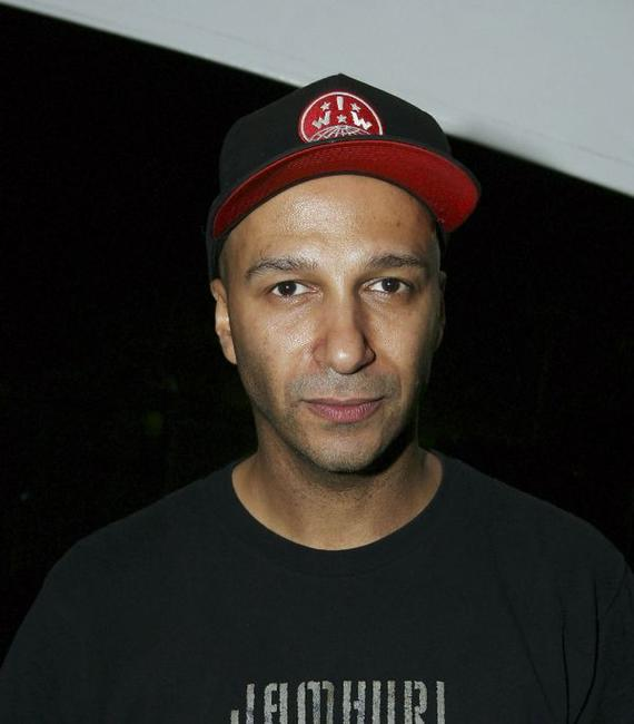 Tom Morello at the Coachella Music Festival.