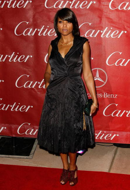 Taraji P. Henson at the 20th anniversary of the Palm Springs International Film Festival Awards Gala.