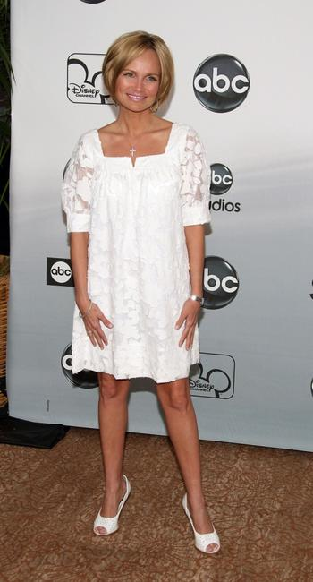 Kristin Chenoweth at the 2007 ABC All Star Party.
