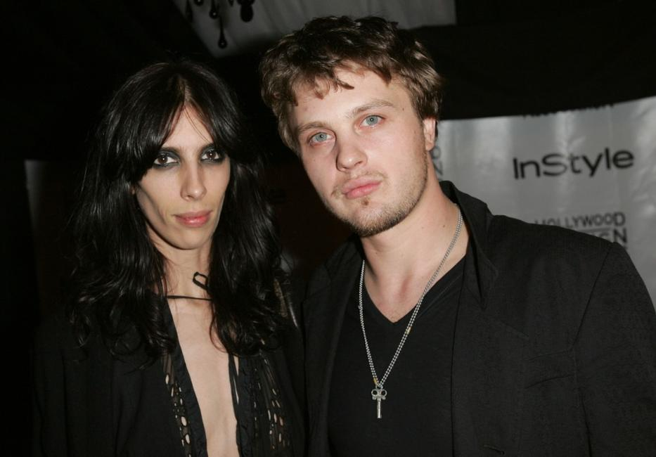 Michael Pitt and Jamie Bochert at the In Style Magazine and The Hollywood Foreign Press Association Toronto International Film Festival Party.