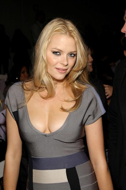 Jamie King at the Herve Leger By Max Azria Fall 2008 fashion show during the Mercedes-Benz Fashion Week Fall 2008.