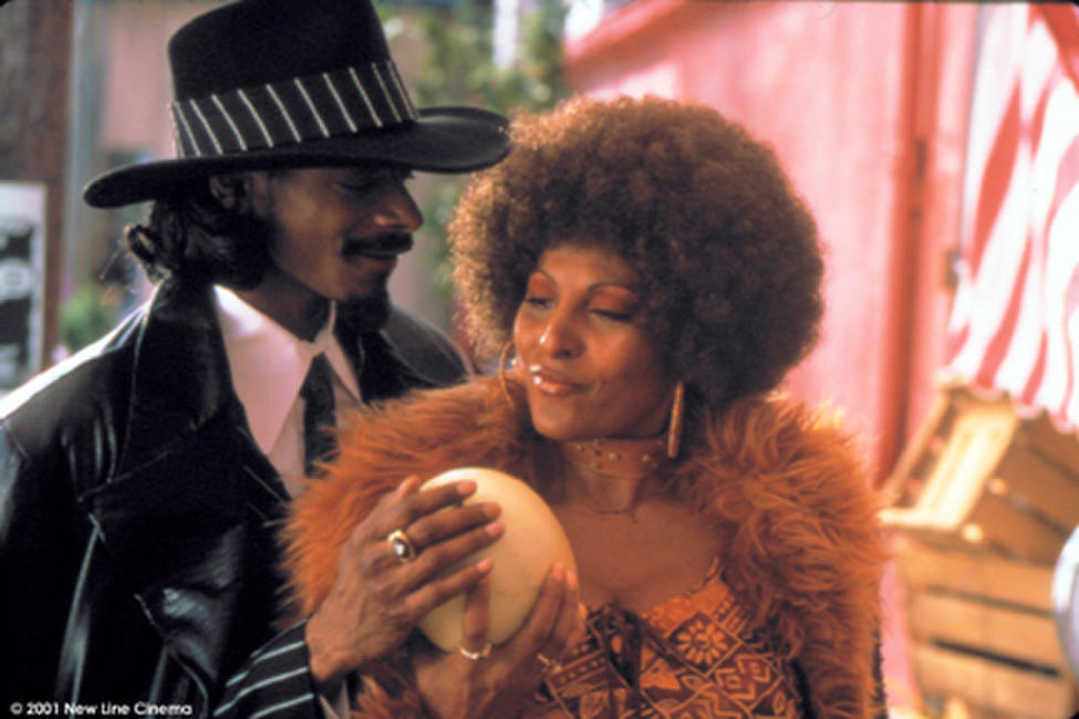 Snoop Dogg and Pamela Grier in