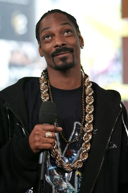 Snoop Dogg at the MTV's Total Request Live.