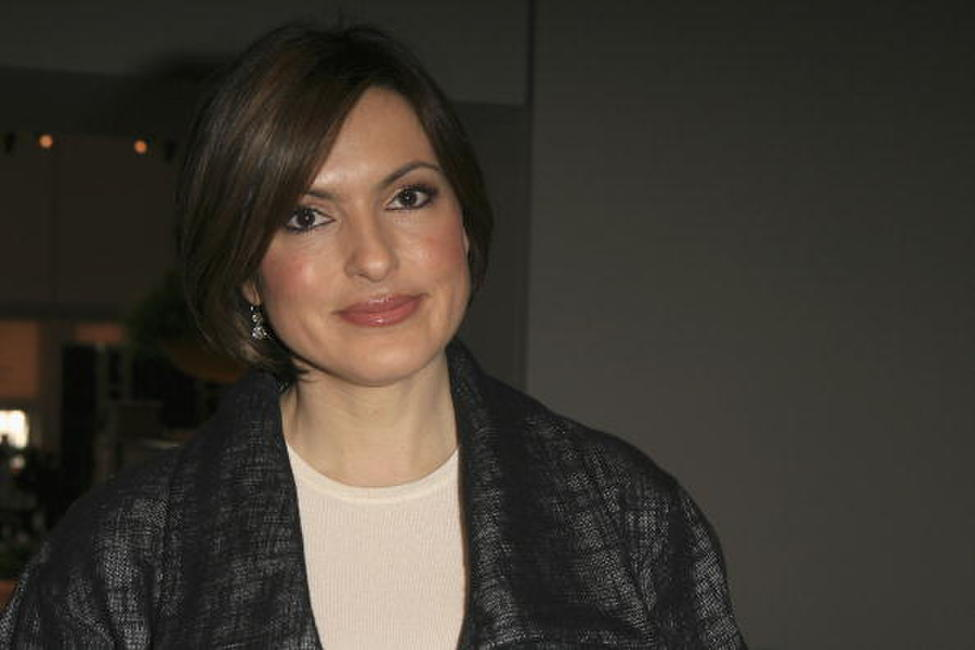 Mariska Hargitay at the Mercedes-Benz Fashion Week Fall 2008.